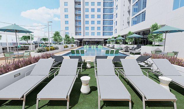 Rooftop Pool & Hot Tub