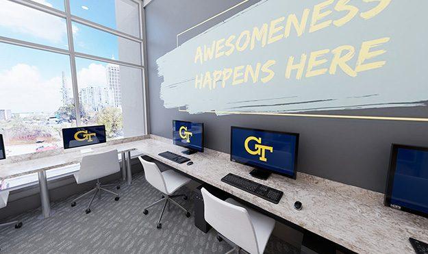 Computer Lounge & Study Room